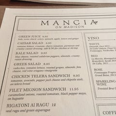 Photo taken at Mangia by Harry C. on 4/7/2015