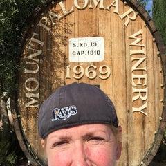 Photo taken at Mount Palomar Winery by jennifer j. on 9/10/2015