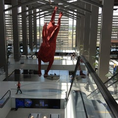 Photo taken at Central Terminal B / Landside by Anthony V. on 5/19/2012