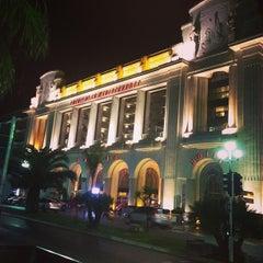 Photo taken at Hyatt Regency Nice Palais de la Mediterranee by bibichat .. on 3/23/2013