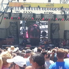 Photo taken at Tire Kingdom Stage @ Sunfest by Joseph S. on 5/4/2014