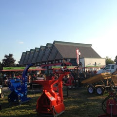 Photo taken at Indiana State Fairgrounds Normandy Barn by Nora S. on 8/11/2013