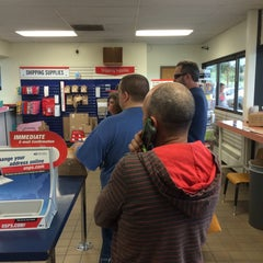 Photo taken at Post Office - Russian Jack Station by Gary M. on 7/23/2014