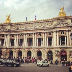 Photo taken at Place de l'Opéra by Yaron K. on 3/28/2013