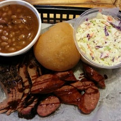 Photo taken at Smokin' J's Real Texas BBQ by Eric T. on 2/2/2013