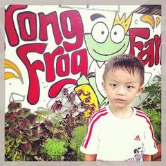 Photo taken at Jurong Frog Farm by Edwin P. on 11/30/2013