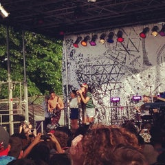 Photo taken at Northside Festival by Claire E. on 6/16/2013