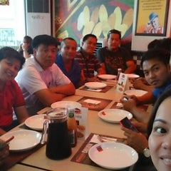Photo taken at Shakey's by richelle mae p. on 3/13/2015