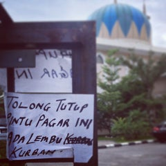 Photo taken at Masjid Al-Hidayah by A A. on 10/16/2013