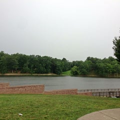 Photo taken at Lake Fairfax Park by Rami A. on 7/7/2013