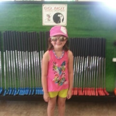 Photo taken at Udders and Putters Mini Golf Course by Amy B. on 6/17/2013