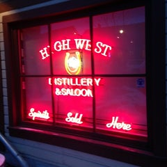 Photo taken at High West Distillery & Saloon by Brandon B. on 2/13/2013