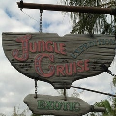 Photo taken at Jungle Cruise by michele m. on 5/7/2013