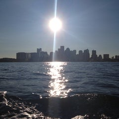 Photo taken at Boston Harbor Water Taxi by Elly D. on 9/17/2013