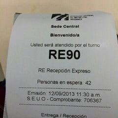 Photo taken at Dirección General de Impuestos Internos (DGII) by Junior K. on 9/12/2013