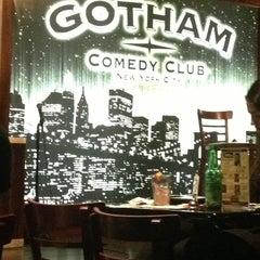 Photo taken at Gotham Comedy Club by Eldad H. on 6/2/2013