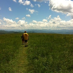 Photo taken at Max Patch by Lyn H. on 5/28/2012