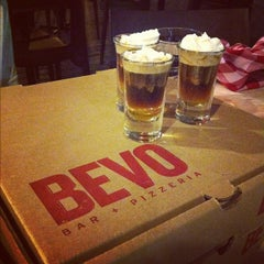 Photo taken at BEVO Bar + Pizzeria by SKW on 6/29/2012