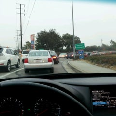 Photo taken at I-110 at Sepulveda Blvd by Jen V. on 10/3/2012