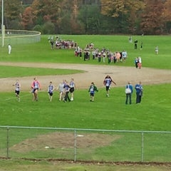 Photo taken at Londonderry High School by Steve M. on 10/20/2012