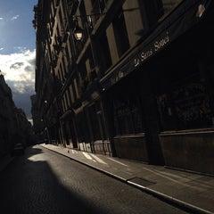 Photo taken at Rue Saint-Sauveur by pierre a. on 6/29/2014