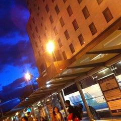 Photo taken at Estación de Autobuses de Donostia/San Sebastián by Juan I. on 12/21/2012