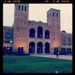 Photo taken at UCLA Royce Hall by Daijiro M. on 3/18/2013