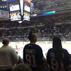 Photo taken at New York Islanders Team Store by Deborah C. on 10/16/2013