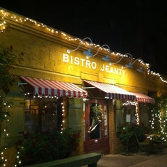 Photo taken at Bistro Jeanty by michael c. on 12/21/2012