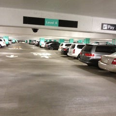 Photo taken at SFO Long Term Parking by Steven C. on 4/12/2013