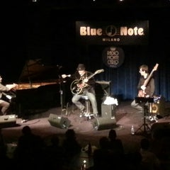 Photo taken at Blue Note Milano by Fabio C. on 3/19/2013