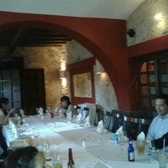 Photo taken at El Caserío Restaurante Bar by Vania D. on 7/27/2013