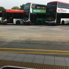 Photo taken at Hougang Central Bus Interchange by Vanessa T. on 3/29/2013