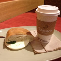 Photo taken at Panera Bread by Maria V. on 10/17/2012