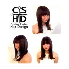 Photo taken at Christina Sanchez Hair Design @ gods&heros salon by Christina on 2/26/2015