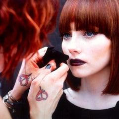 Photo taken at Christina Sanchez Hair Design @ gods&heros salon by Christina on 4/4/2014