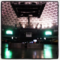 Photo taken at Movistar Arena by Checho F. on 4/14/2013
