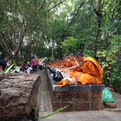 Photo taken at วัดชลประทานรังสฤษฎ์ (Wat Chonprathan Rangsarit) by Rattanit N. on 4/13/2013