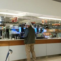 Photo taken at Lufthansa Welcome Lounge (Arrival Lounge) by Sandra K. on 10/20/2014