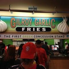 Photo taken at Gilroy Garlic Fries by Michael D. on 8/11/2013