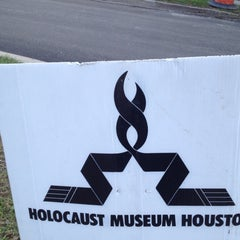 Photo taken at Holocaust Museum Houston by John C. on 2/6/2012