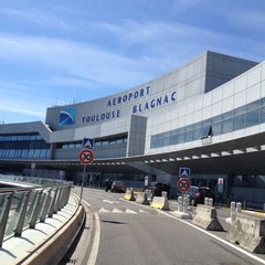 Photo taken at Aéroport Toulouse-Blagnac (TLS) by Guylaine C. on 5/1/2012