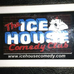 Photo taken at Icehouse Comedy Club Pasadena by Chris S. on 2/11/2012