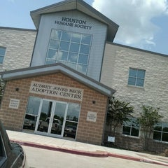 Photo taken at Houston Humane Society by HcsPuff G. on 8/12/2012