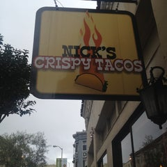 Photo taken at Nick's Crispy Tacos by Doug T. on 3/16/2012