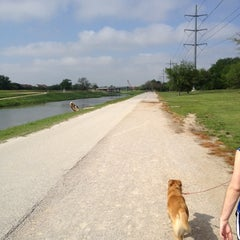 Photo taken at Trinity River Park by Tony J. on 3/31/2012