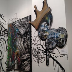Photo taken at Pop International Galleries by Andrea H. on 3/23/2012