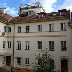 Photo taken at Vilniaus universiteto Filosofijos fakultetas by Liz R. on 7/10/2012