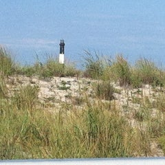 Photo taken at Robert Moses State Park - Field 5 by Nina M. on 8/18/2012
