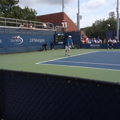 Photo taken at Court 13 - USTA Billie Jean King National Tennis Center by Eli G. on 9/2/2012